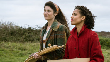 Gemma Arterton and Gugu Mbatha Raw in Summerland, one of the films showing at MQFF.