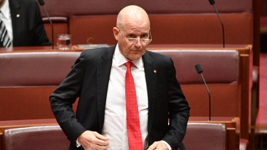 Senator Leyonhjelm would not withdraw the comments.