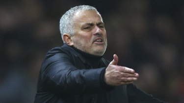Jose Mourinho had been heavily linked with the Spurs job.