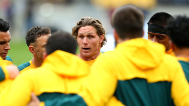Wallabies star Michael Hooper will play his first match in Newcastle on Saturday since his debut in 2012.