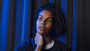 Zahra Newman stars in a one-woman stage adaptation of the cult Australian novel Wake in Fright.