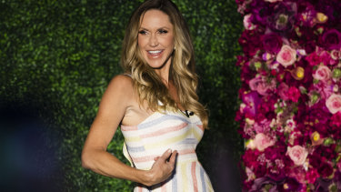 Lara Trump was a star guest at the Women For Trump campaign event.