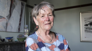 "June Lunsmann, 76, is happy to give up her excess franking credits because it's ""morally fair""."