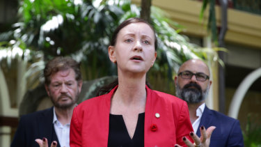 Queensland Attorney-General Yvette D'Ath's Justice Department ordered the Supreme Court action, police said.