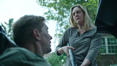 Lisa Emery as the drug-dealing hillbilly Darlene Snell in Ozark.