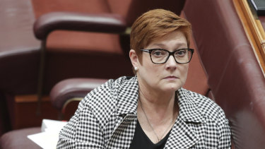 Foreign Affairs Minister Marise Payne has been briefed on the latest crisis.