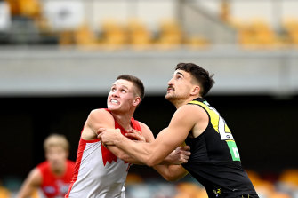 Hayden McLean will again fill the void left be Lance Franklin.