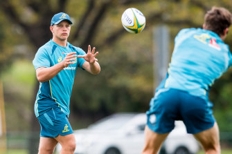 Mack Mason was included in a Wallabies training camp in 2017.