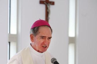 The Bishop of Ballarat, Paul Bird.