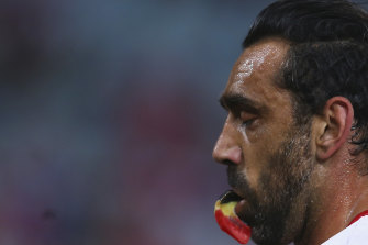 Adam Goodes can see the silver lining in the ugly end to his decorated career.