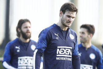 Curtis Good will miss at least City's first match back in the restarted A-League.