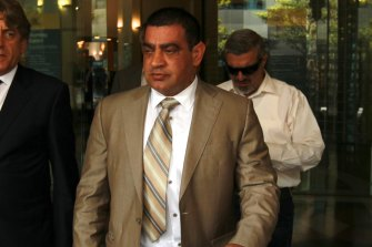 Underworld figure Sam Ibrahim, pictured in 2011, faces deportation after being granted parole.