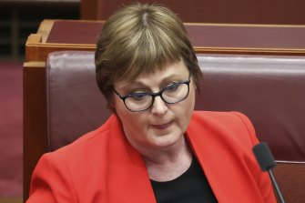 Linda Reynolds will move from defence to portfolios of government services and the National Disability Insurance Scheme.
