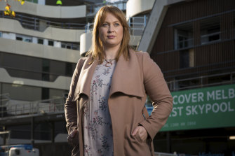 Property Council chief Danni Hunter says repurposing commercial offices into apartments is too costly.