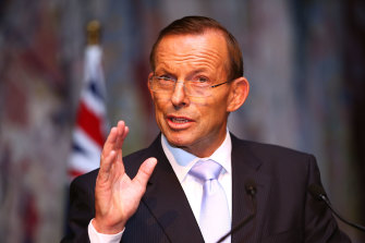 Former Australian prime minister Tony Abbott has been hired by British Prime Minister Boris Johnson for a role in the British Board of Trade.