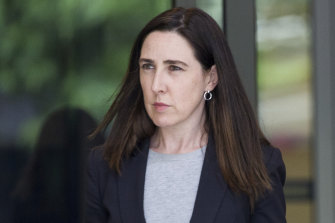Catherine Fitzgerald, counsel assisting the coroner, at the inquest into the killing of Sisto Malaspina.
