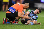 Hurting: Nathan Cleary.