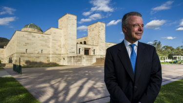 Brendan Nelson was appointed as director of the War Memorial in 2012, and will step down at the end of this year.