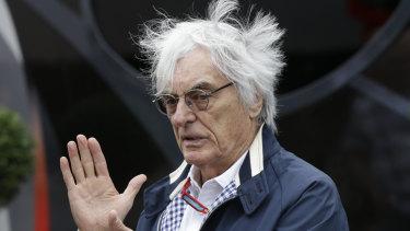 Bernie Ecclestone on a good day.