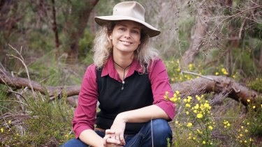 Murdoch University lecturer and Kings Park Science research scientist Dr Katinka Ruthrof.