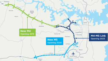 The $16.8 billion WestConnex toll road project has been highly controversial in Sydney's inner west.
