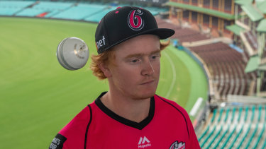 Lloyd Pope will play for the Sydney Sixers in the Big Bash League.
