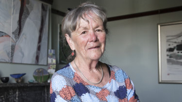 """June Lunsmann, 76, is happy to give up her excess franking credits because it's """"morally fair""""."""