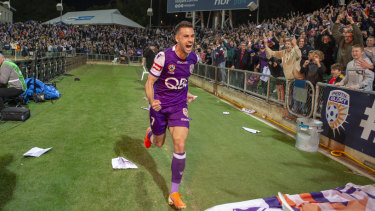 It was a different scene after Joel Chianese got Glory the result last Friday after a tense penalty shootout.