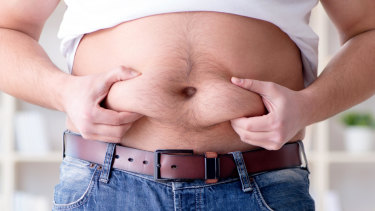 Visceral fat is the one you need to be worried about.