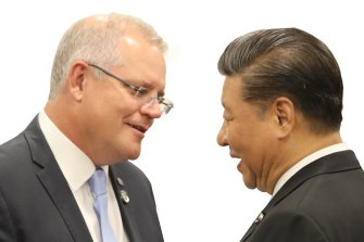 'A Cold War mindset and ideological discrimination': China amps up feud with Australia