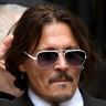 Johnny Depp at court in London on Friday.