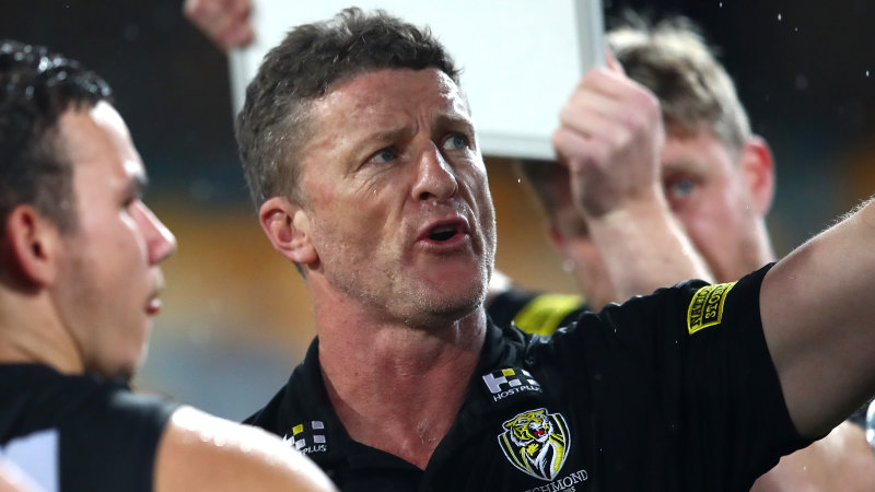 'Farcical': Hardwick blames Swans after 'horrendous game of football' – The Age