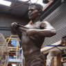 Political football: Winmar statue yet to find a home