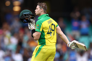 Steve Smith put on a show on Sunday and the second ODI was a ratings winner for Foxtel.