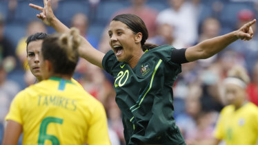 Canberra coach Heather Garriock says Sam Kerr is the best player in the world and deserves to be a marquee player.