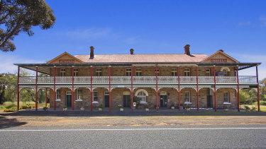 The historic hotel.