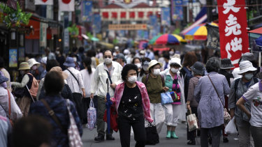 Japan has become the world's oldest major economy and its living standards are falling.