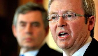 Kevin Rudd terpilih dengan kondisi hati.