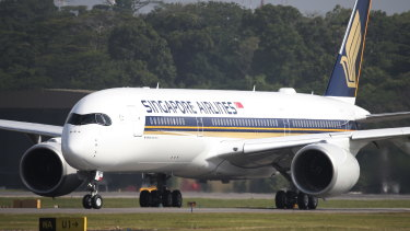 Singapore Airlines is one of the few carriers to maintain regular services into Australia during the pandemic.