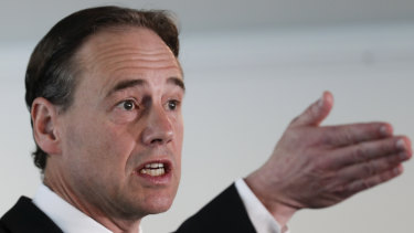 Health Minister Greg Hunt has strongly rejected Dr Wilyman's claims.