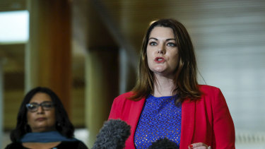 Senator Sarah Hanson-Young moved to establish a media diversity inquiry on Wednesday.