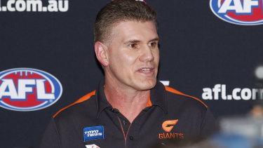 Greater Western Sydney football boss Jason McCartney.