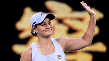 Ash Barty was dominant in the first round.