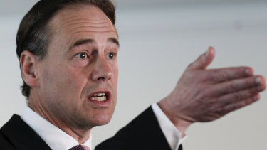 """Health Minister Greg Hunt: """"Research into causes, prevention and treatment of mental illness and suicide is vital to reduce these figures."""""""