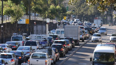 Traffic congestion may be a contributing factor to people choosing to work from home.