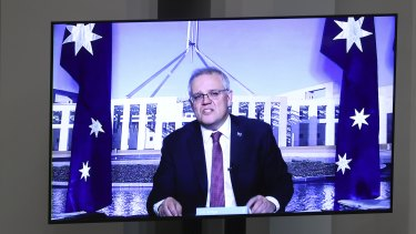 Prime Minister Scott Morrison revealed an $11 million support package to assist the aged care sector with a vaccine program.