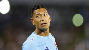 Stoush: Israel Folau and Rugby Australia are set for a code of conduct hearing.