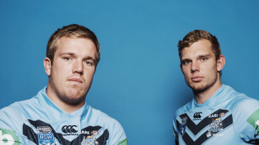 Jake and Tom Trbojevic have re-signed with Manly.