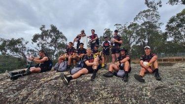 Panthers juniors undertake a development program in the bush.