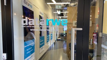 A medical start-up called Datarwe now operates from the 2018 former Commonwealth Games village. This area was a bar.